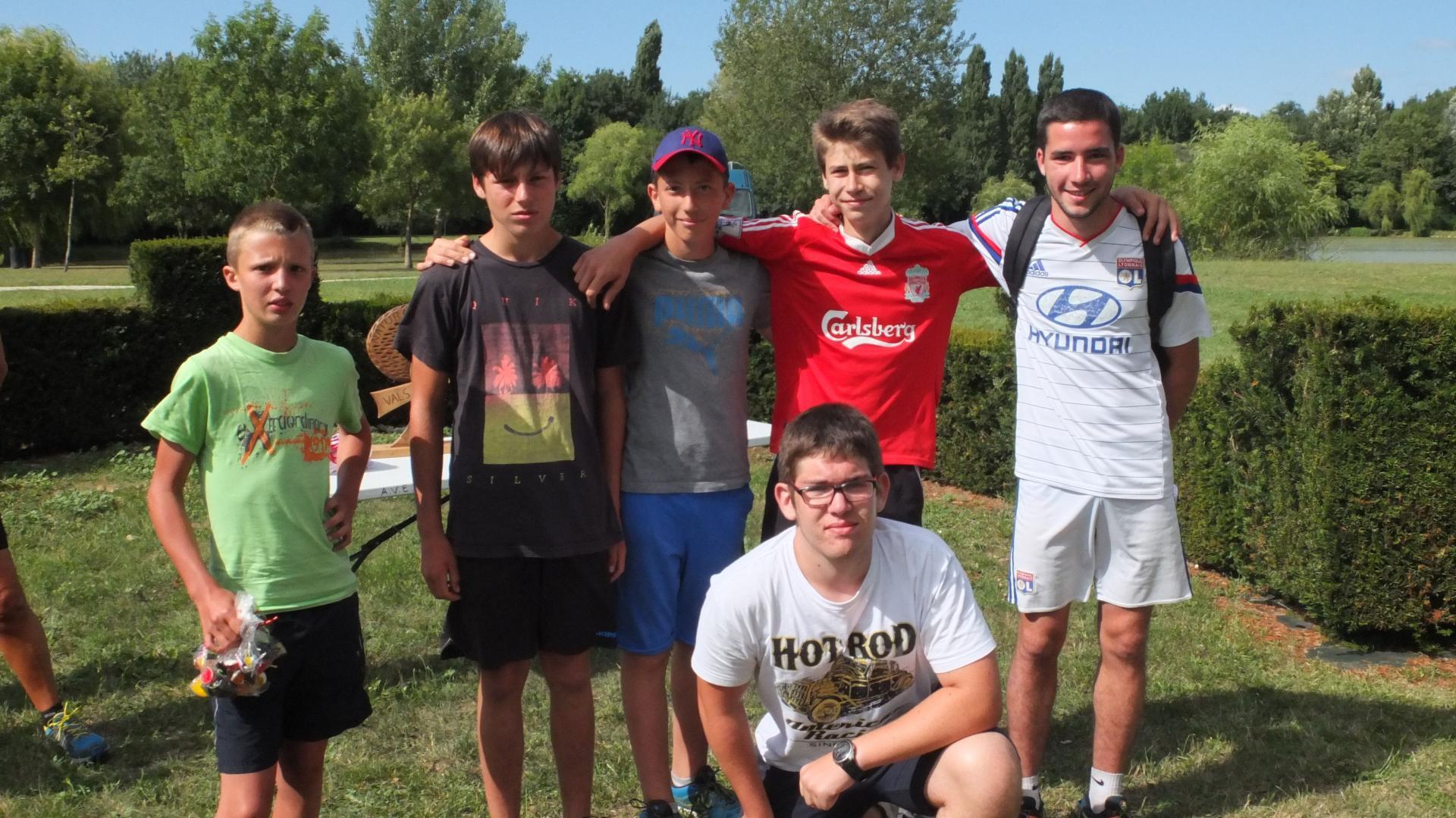 Equipe 15 : 2 iéme Catégorie 12-15 ans