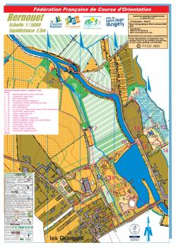 Carte jaune pedestre 3 2 km stjean