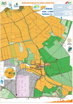 Carte jaune pedestre 3 5 km asinerie