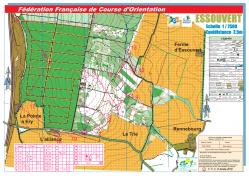 Carte jaune pedestre 4 7 km essouvert