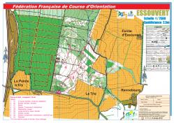 Carte verte pedestre 1 5 km essouvert