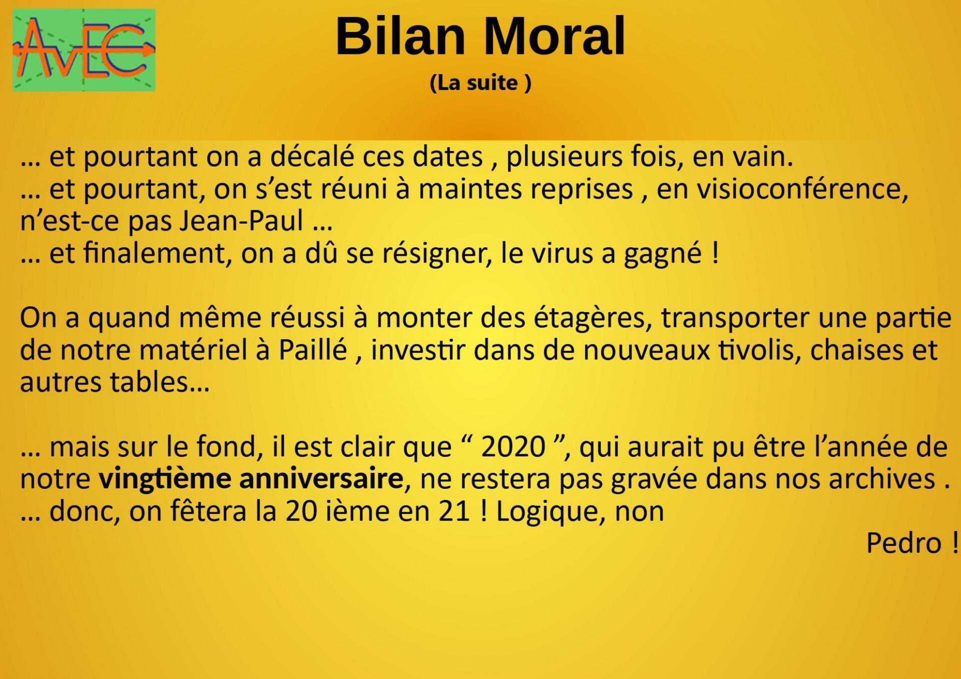 Diapo 3 Bilan moral suite