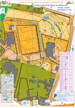 Parcours complexe jaune 1
